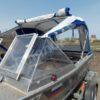 Windboat-42MPro / Виндбот-42МПро. Тент для стекла с калиткой. 51
