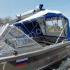 Windboat-42MPro / Виндбот-42МПро. Тент для стекла с калиткой. 52
