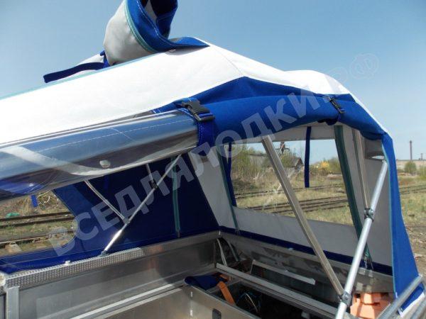 Windboat-42MPro / Виндбот-42МПро. Тент для стекла с калиткой. 18
