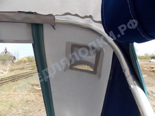 Windboat-42MPro / Виндбот-42МПро. Тент для стекла с калиткой. 19
