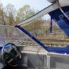 Windboat-42MPro / Виндбот-42МПро. Тент для стекла с калиткой. 55