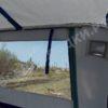 Windboat-42MPro / Виндбот-42МПро. Тент для стекла с калиткой. 56