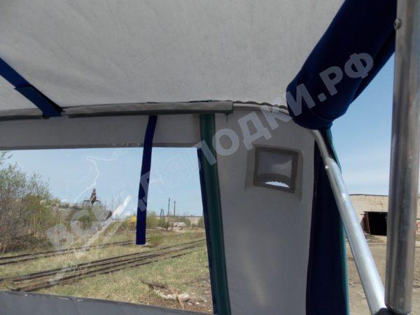 Windboat-42MPro / Виндбот-42МПро. Тент для стекла с калиткой. 22