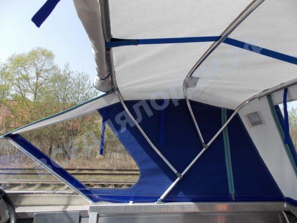 Windboat-42MPro / Виндбот-42МПро. Тент для стекла с калиткой. 24
