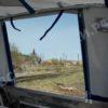 Windboat-42MPro / Виндбот-42МПро. Тент для стекла с калиткой. 60