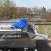 Windboat-42MPro / Виндбот-42МПро. Тент для стекла с калиткой. 61