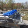 Windboat-42MPro / Виндбот-42МПро. Тент для стекла с калиткой. 62