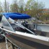 Windboat-42MPro / Виндбот-42МПро. Тент для стекла с калиткой. 64