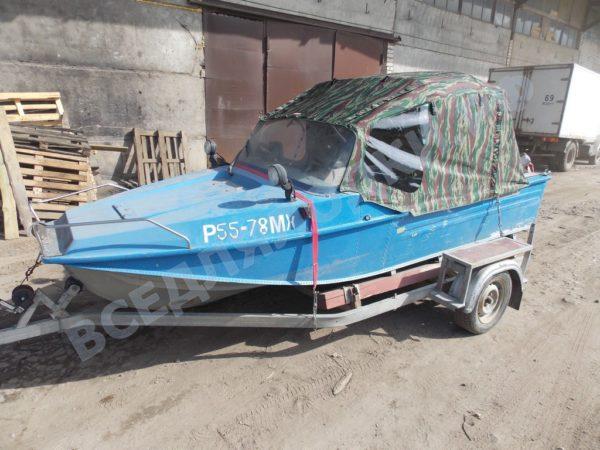 Воронеж-М. Тент ходовой на штатное стекло и тройные дуги. 1