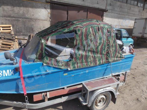 Воронеж-М. Тент ходовой на штатное стекло и тройные дуги. 3