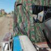 Воронеж-М. Тент ходовой на штатное стекло и тройные дуги. 23