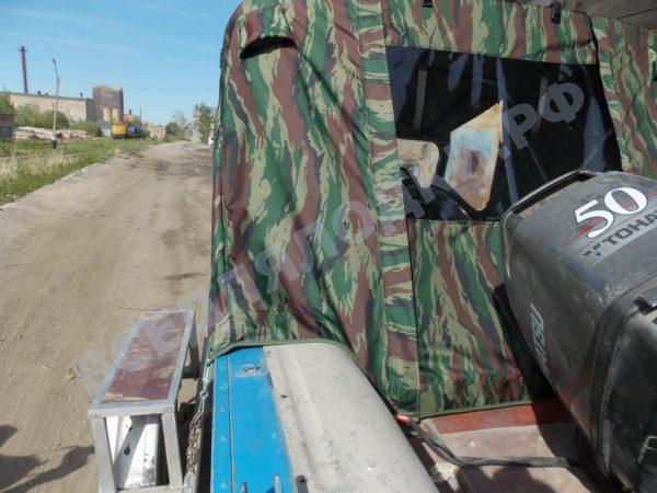 Воронеж-М. Тент ходовой на штатное стекло и тройные дуги. 5