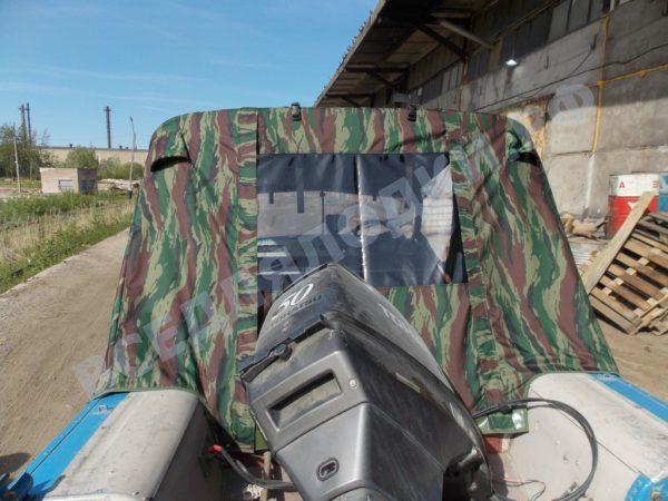 Воронеж-М. Тент ходовой на штатное стекло и тройные дуги. 6