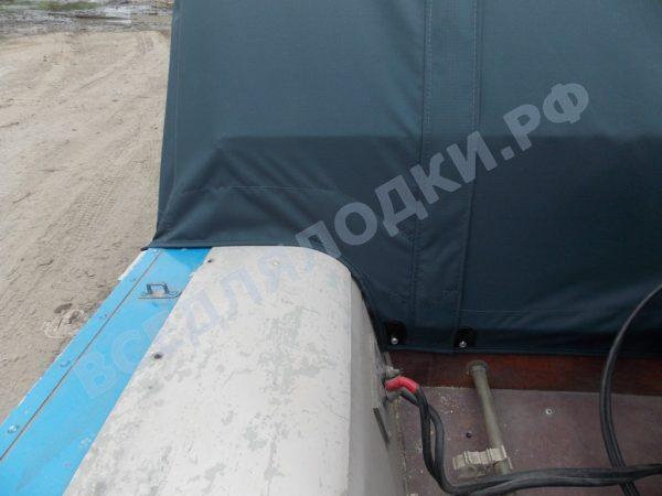 Воронеж-М. Тент ходовой для стекла с калиткой. 7