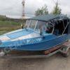 Воронеж-М. Тент ходовой для стекла с калиткой. 56