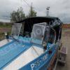 Воронеж-М. Тент ходовой для стекла с калиткой. 60
