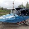Воронеж-М. Тент ходовой для стекла с калиткой. 62