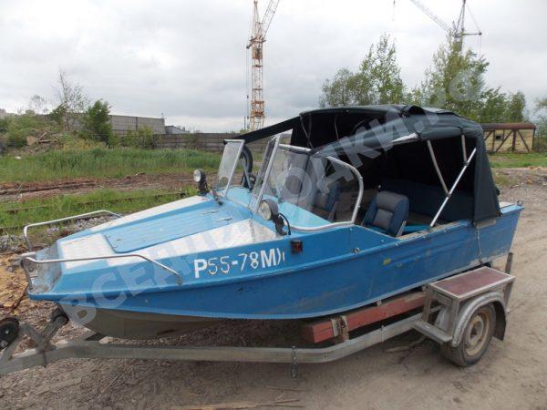 Воронеж-М. Тент ходовой для стекла с калиткой. 24