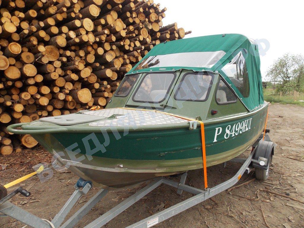 Тент на лодку King Fisher 470 1