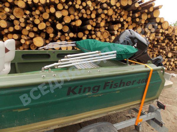"Кинг Фишер 470. King Fisher 470. Тент ""Полурубка"". 27"