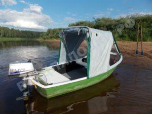 Тент на лодку Онего-390