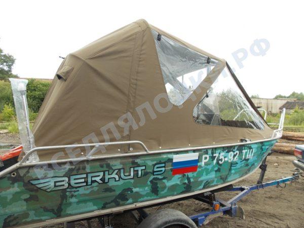 "Berkut-S. Беркут-С. Тент ""Полурубка"". 1"